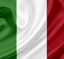 język włoski - flaga